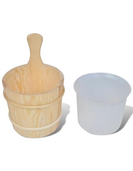 Sodo poilsio baldų komplektas iš palečių, 7 dalių, mediena  | Lauko Baldų Komplektai | duodu.lt