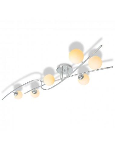 Lubų šviestuvas su 6 LED G9 lemputėmis, 240 W | Lubų Šviestuvai | duodu.lt