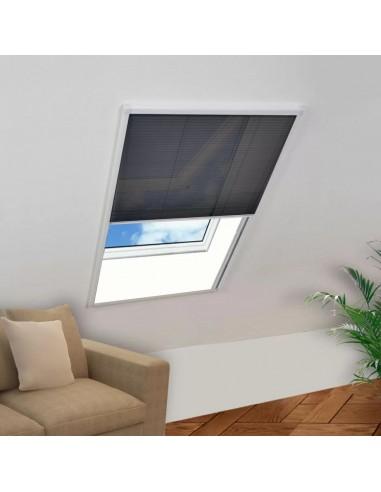 Tinklelis nuo vabzdžių langams, plisuotas, aliuminis, 80x120cm  | Langų Tinkleliai | duodu.lt