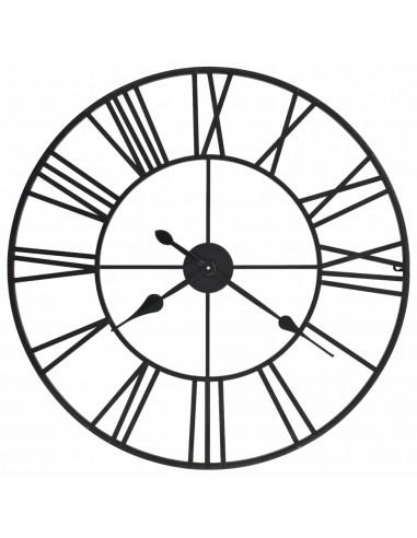 Sien. laikrodis, vintaž. stil., kvarc. mech., metal., 80cm, XXL | Sieniniai Laikrodžiai | duodu.lt