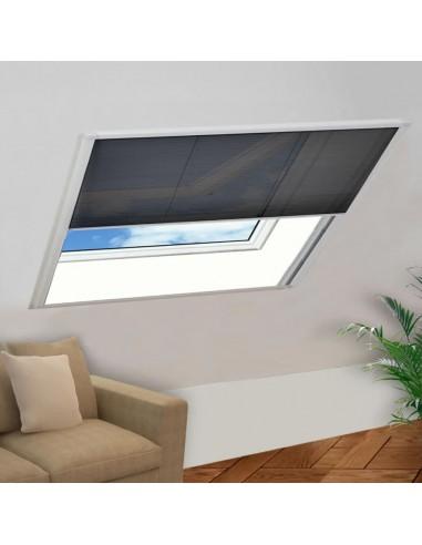 Tinklelis nuo vabzdžių langams, plisuotas, aliuminis, 120x120cm  | Langų Tinkleliai | duodu.lt