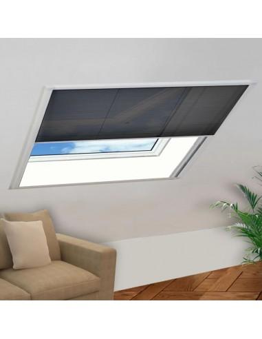 Tinklelis nuo vabzdžių langams, plisuotas, aliuminis, 130x100cm   Langų Tinkleliai   duodu.lt