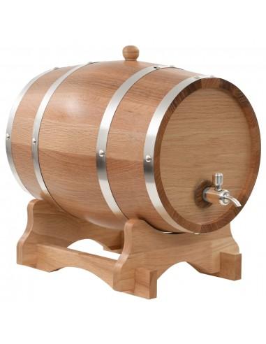 Vyno statinė su kraneliu, ąžuolo masyvas, 12l | Vyno gamyba | duodu.lt