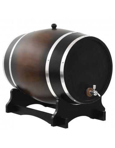 Vyno statinė su kraneliu, pušies medienos masyvas, 35l   Vyno gamyba   duodu.lt