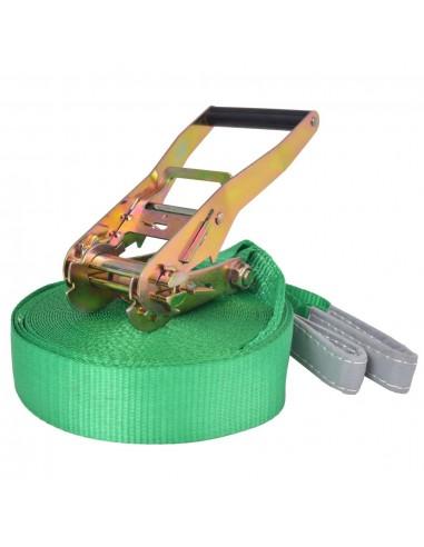 Balansinė juosta, 15m x 50mm, 150 kg, žalios sp. | Balansiniai treniruokliai | duodu.lt