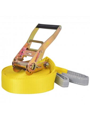 Balansinė juosta, 15m x 50mm, 150 kg, geltonos sp. | Balansiniai treniruokliai | duodu.lt