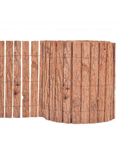 Sodo tvora, medžio žievė, 1000x30cm | Tvoros Segmentai | duodu.lt