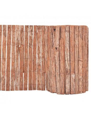 Sodo tvora, medžio žievė, 1000x50cm | Tvoros Segmentai | duodu.lt