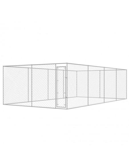 Tinklinė tvora, 15x1,25 m, plienas, pilka   Tvoros Segmentai   duodu.lt