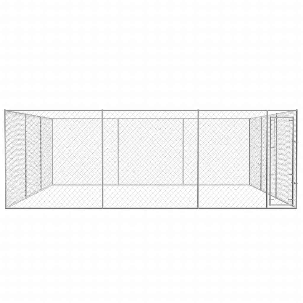 Tinklinė tvora, 15x1,95 m, plienas, pilka   Tvoros Segmentai   duodu.lt