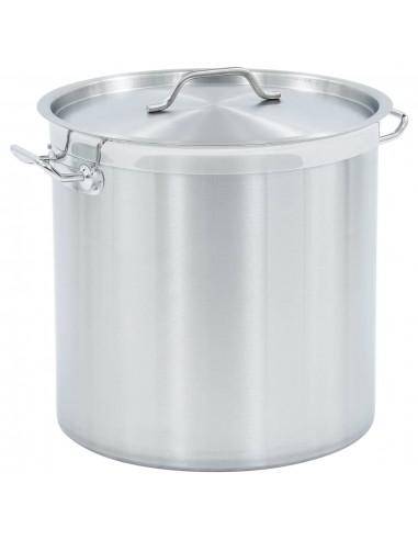 Maisto ruošimo puodas, 40x40cm, nerūdijantis plienas, 50l | Puodai Sultiniui | duodu.lt