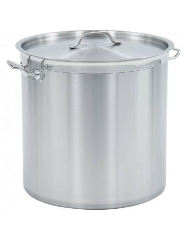 Maisto ruošimo puodas, 45x45cm, nerūdijantis plienas, 71l | Puodai Sultiniui | duodu.lt