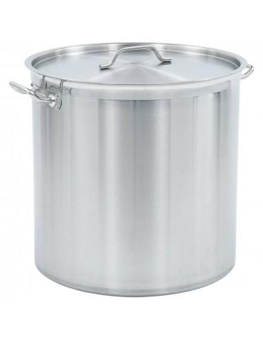 Maisto ruošimo puodas, 50x50cm, nerūdijantis plienas, 98l   Puodai Sultiniui   duodu.lt