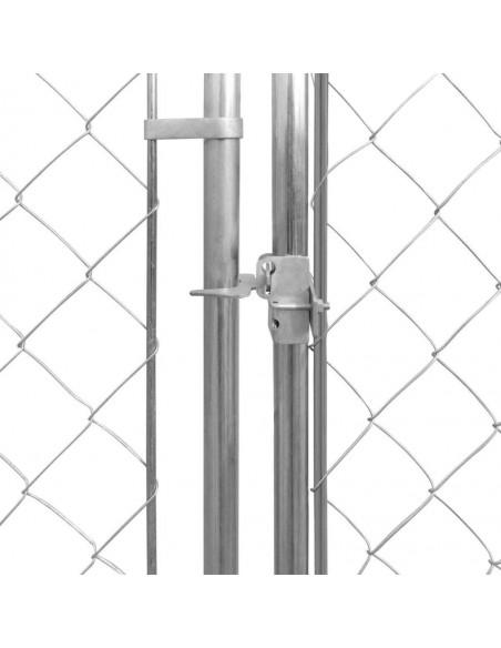 Tinklinė tvora, 25x0,8 m, plienas, pilka | Tvoros Segmentai | duodu.lt