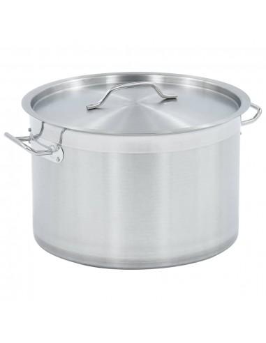 Maisto ruošimo puodas, 35x22cm, nerūdijantis plienas, 23l   Puodai Sultiniui   duodu.lt