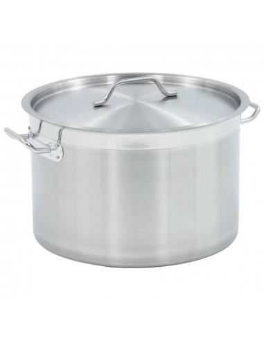 Maisto ruošimo puodas, 40x26cm, nerūdijantis plienas, 32l | Puodai Sultiniui | duodu.lt