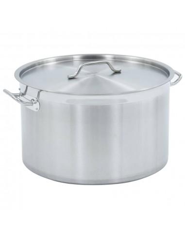 Maisto ruošimo puodas, 50x30cm, nerūdijantis plienas, 58l | Puodai Sultiniui | duodu.lt