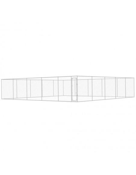Tinklinė tvora, 25x1m, plienas, pilka   Tvoros Segmentai   duodu.lt