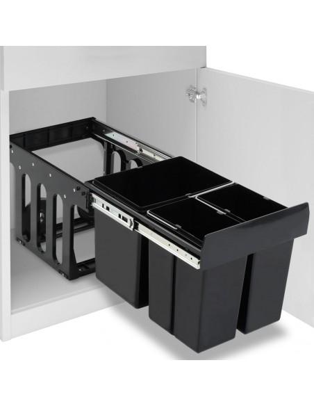 Baro taburetės, 2vnt., juodos, lenkta mediena ir dirbtinė oda  | Stalai ir Baro Kėdės | duodu.lt