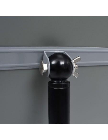 Sofos komplektas, 4 dalių, tamsiai pilkos spalvos, audinys | Sofos | duodu.lt