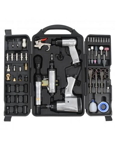 Pneumatinių įrankių komplektas, 70 dalių | Darbo Įrankiai | duodu.lt