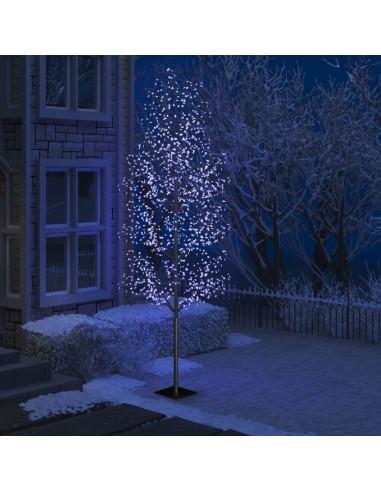 Kalėdinis medis su LED lemputėmis, 400cm, su vyšnių žiedais   Šventiniai papuošimai   duodu.lt