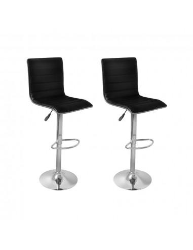 Baro kėdės, 2 vnt., juodos  | Stalai ir Baro Kėdės | duodu.lt