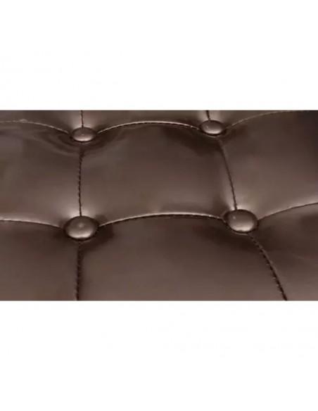 Valgomojo baldų komplektas, 5d., juodas, dirbtinė oda  | Virtuvės ir Valgomojo Baldų Komplektai | duodu.lt