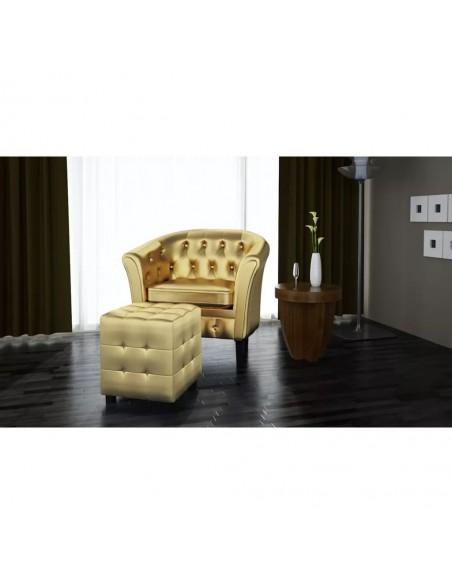Valgomojo baldų komplektas, 5d., rudas, dirbtinė oda  | Virtuvės ir Valgomojo Baldų Komplektai | duodu.lt