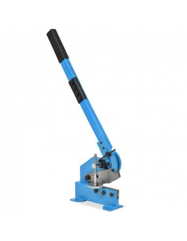 Metalo žirklės su svirtimi, 125mm, mėlynos | Žnyplės Metalui | duodu.lt