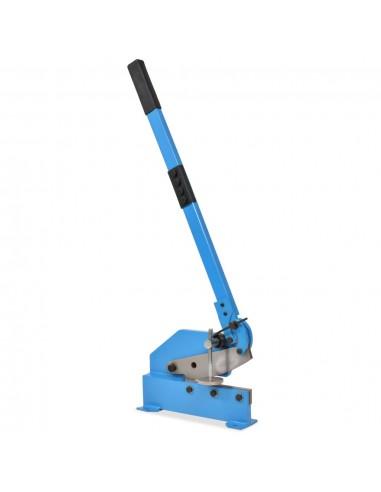 Metalo žirklės su svirtimi, 200mm, mėlynos   Žnyplės Metalui   duodu.lt