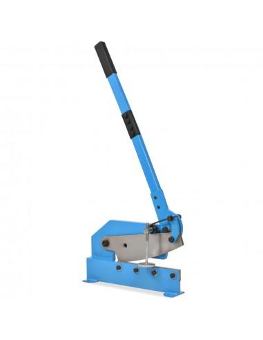 Metalo žirklės su svirtimi, 300mm, mėlynos   Žnyplės Metalui   duodu.lt