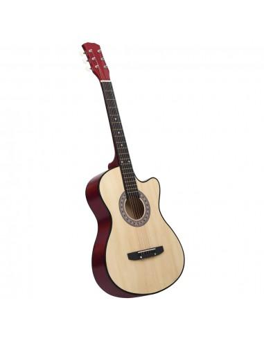 """Akustinė gitara, amerikinė liepa, 38\\"""", 6 stygos      Gitaros   duodu.lt"""