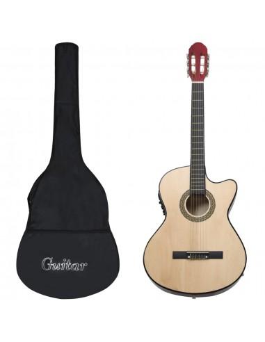 Gitaros rinkinys su ekvalaizeriu, 12 dalių, 6 stygos     Gitaros   duodu.lt