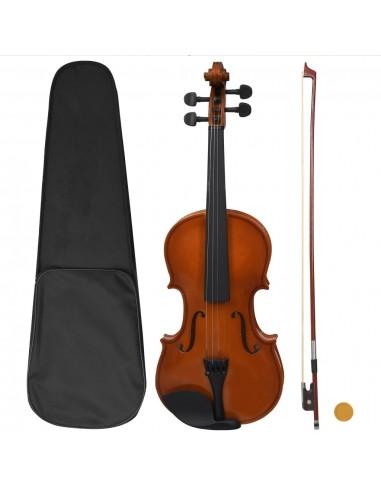 Smuiko rinkinys su stryku ir atrama smakrui, medienos, 4/4 | Smuikai | duodu.lt