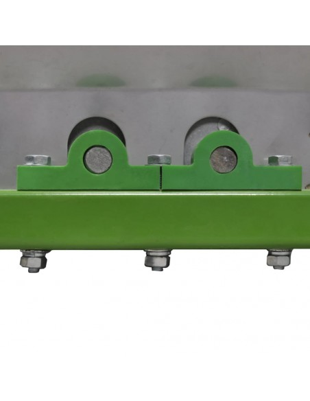 Euro tvora, 25x1,7m su 77x64mm plieniniu tinkleliu, pilka | Tvoros Segmentai | duodu.lt