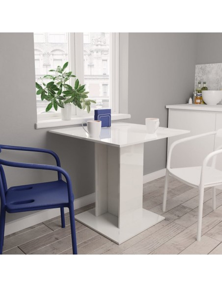 Valgomojo komplektas, 5 dalių, jūros mėlynas, dirbtinė oda | Virtuvės ir Valgomojo Baldų Komplektai | duodu.lt