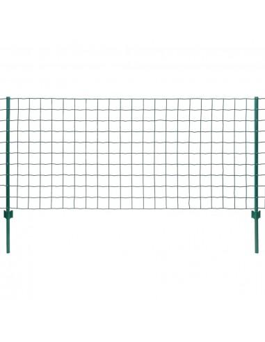 Euro tvoros komplektas, 20x1,2m, plienas, žalias | Tvoros Segmentai | duodu.lt