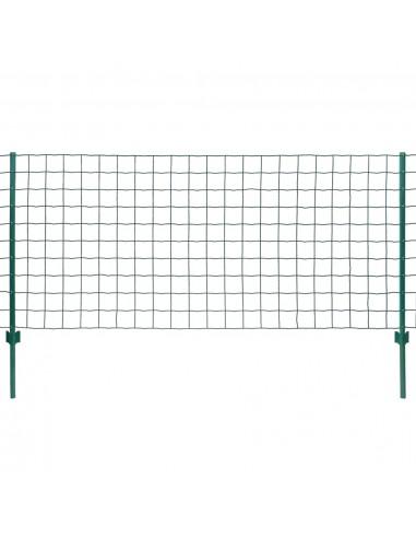 Euro tvoros komplektas, 20x1,5m, plienas, žalias | Tvoros Segmentai | duodu.lt