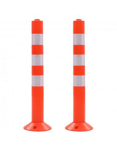 Eismo reguliavimo stulpeliai, 2vnt., plastikas, 75cm   Parkavimo ženklai ir leidimai   duodu.lt