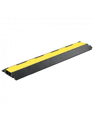 Kabelių apsauga, 2 kanalai, guminės, 101,5cm | Kelio ženklai | duodu.lt
