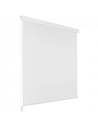 Dušo roletas, 80x240 cm, baltas    Dušo užuolaidos   duodu.lt