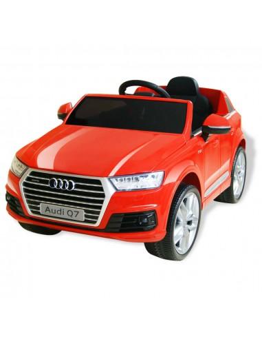 Elektrinis vaikiškas automobilis, Audi Q7, raudonas, 6 V   Elektrinės Transporto Priemonės   duodu.lt