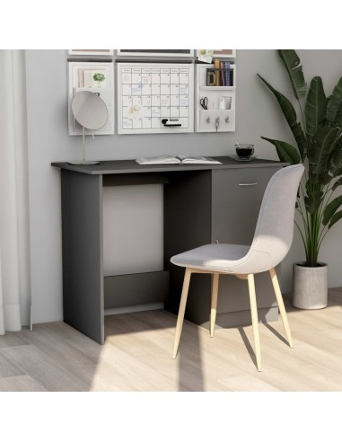 Rašomasis stalas, pilkos spalvos, 100x50x76cm, MDP | Rašomieji Stalai | duodu.lt