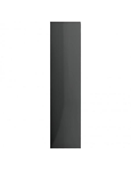 Šoninė spintelė, betono pilkos spalvos, 160x36x75cm, MDP | Bufetai ir spintelės | duodu.lt