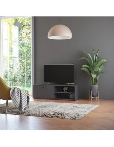 Televizoriaus spintelė, pilkos spalvos, 120x34x37cm, MDP   Pramogų Centrai ir TV Stovai   duodu.lt