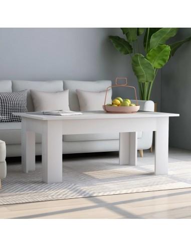Kavos staliukas, baltos spalvos, 100x60x42cm, MDP   Kavos Staliukai   duodu.lt