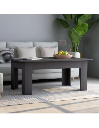 Kavos staliukas, pilkos spalvos, 100x60x42cm, MDP   Kavos Staliukai   duodu.lt