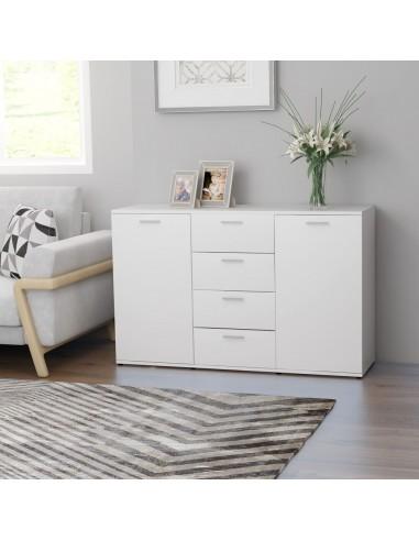 Šoninė spintelė, baltos spalvos, 120x35,5x75cm, MDP | Bufetai ir spintelės | duodu.lt