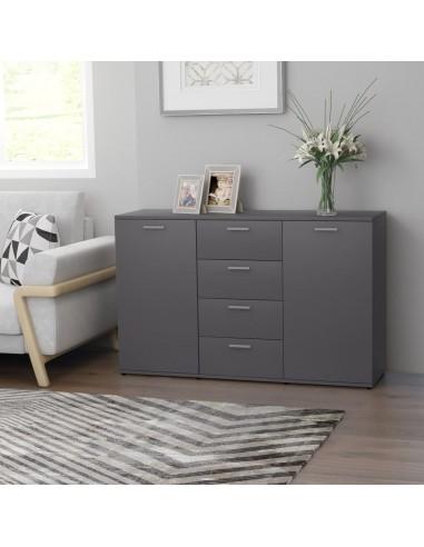 Šoninė spintelė, pilkos spalvos, 120x35,5x75cm, MDP | Bufetai ir spintelės | duodu.lt